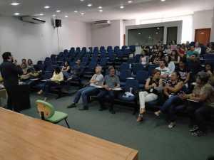 Servidores do Naturatins participam de palestra sobre saúde do trabalhador