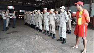 Coronel Leandro agradeceu dedicação da corporação