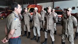 Para o coronel Leandro, empenho da tropa foi fundamental no combate aos incêndios