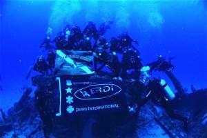 Alunos do Cmaut dão o último mergulho, agora em Recife, na finalização das práticas
