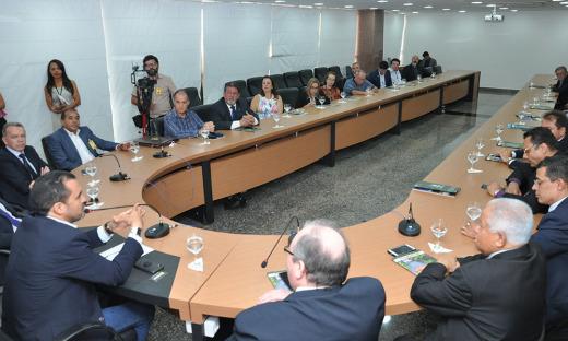 Governo do Estado apresenta potencialidades do Tocantins a grupo de Conselheiros de Administração