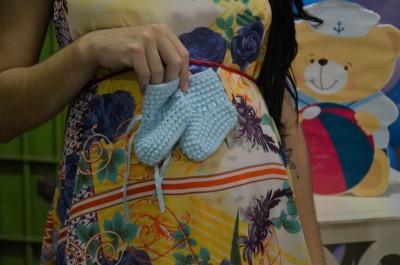 Foram doados itens diversos para os bebês e suas mamães
