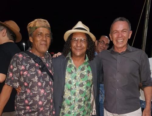 Braguinha Barroso, Genésio Tocantins e Edson Cabral celebram parceria musical
