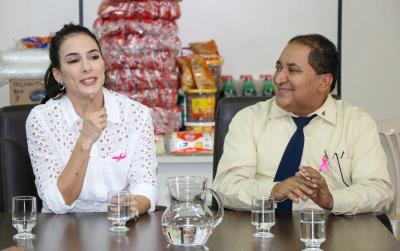 Primeira-Dama agradece oportunidade de contribuir com o desenvolvimento social do Estado
