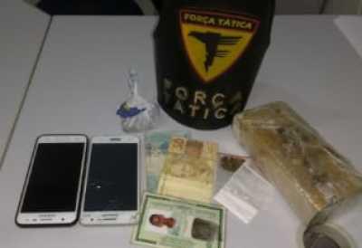 Drogas apreendidas durante patrulhamento da FT em Gurupi