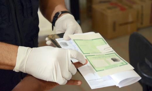 Foram montados 132 processos para emissão de Carteiras de Identidade