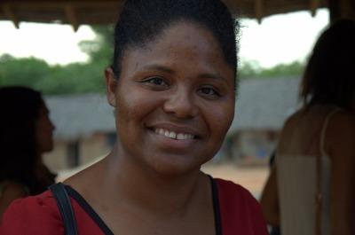 Quilombola Sirlene Barros acredita que projeto proporciona novas oportunidade aos moradores da região