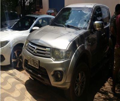 Camionete furtada em Lagoa da Confusão e recuperada pela Polícia Civil em Paraíso do Tocantins