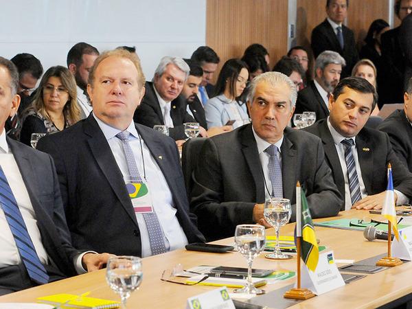 Mauro Carlesse participa da VII edição do Fórum Nacional de Governadores em Brasília