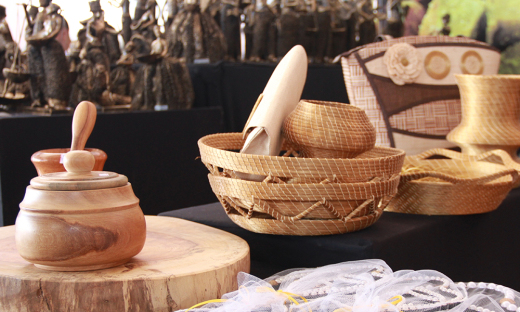 Artesanato indígena (Karajá) é levado a todas as feiras de nível nacional
