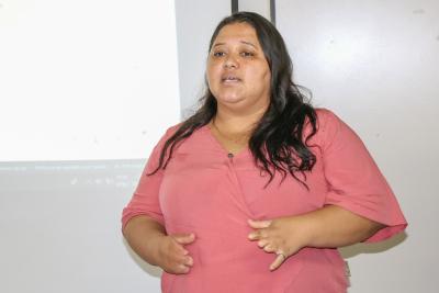 Lílian Práigida, responsável pelo setor de benefícios