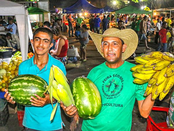 Feira Ecosol já beneficiou mais de 1.000 famílias de norte a sul do Estado