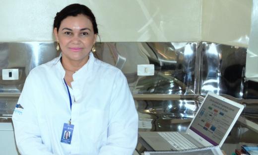 Jucimária Dantas Galvão é quem coordena o projeto de pesquisa