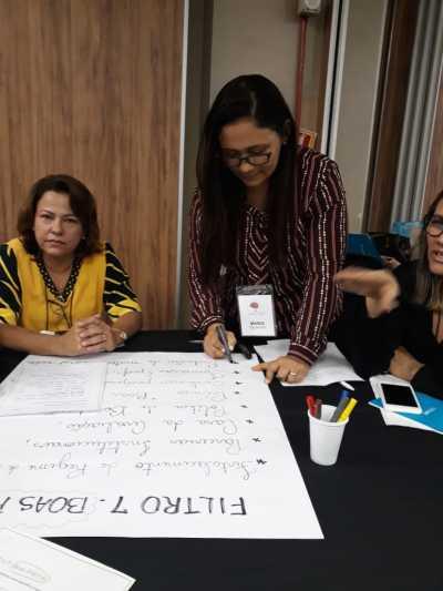 Segundo Maria Antônia, o trabalho fortalece o que vem ocorrendo no Tocantins sobre Avaliação