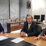 Mauro Carlesse, destacou o trabalho da bancada federal do Tocantins junto aos órgãos federais, visando a liberação dos empréstimos da Caixa Econômica Federal, que somam cerca de R$ 583 milhões
