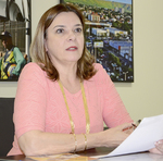 Presidente da Agência de Fomento, Denise Rocha,enfatiza que negociações conjuntas com os bancos já foram feitas, mas esta é exclusiva da unidade