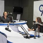 Kaká Lucena e Polyana Siqueira no programa Dois em Um