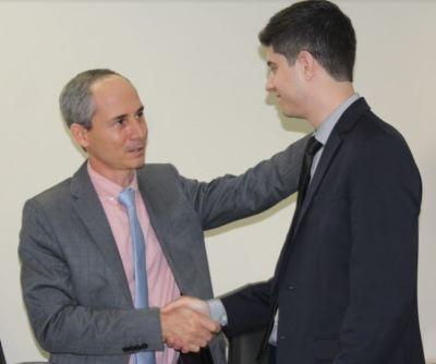 Procurador-Geral Nivair Borges desejou boas vindas ao novo procurador