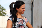 Celma Pereira comemora a notícia de retomada das obras