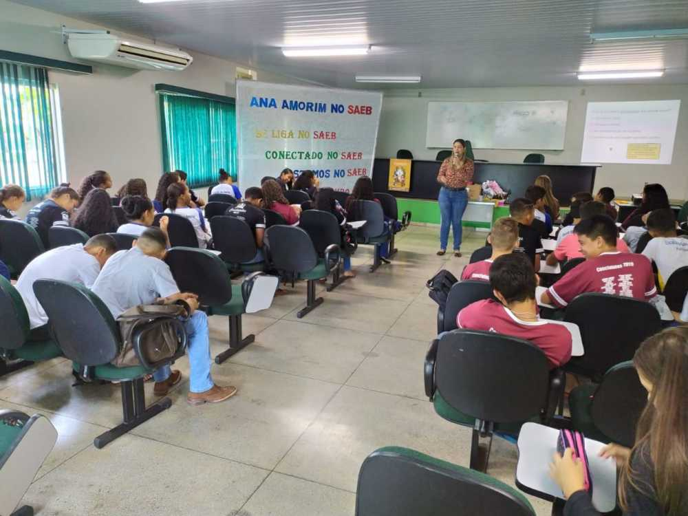 Escola Ana Amorim De Pedro Afonso Promove Palestra