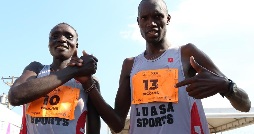 Dois atletas do Quênia foram os campeões da Meia Maratona do Tocantins