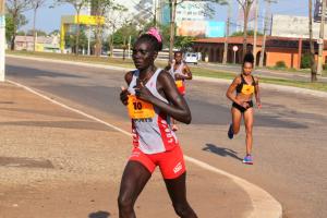 Pauline Chapatei Chemei foi a campeã da prova dos 21 km