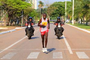 Nicolas Kiptoo faturou o primeiro lugar na prova dos 21 km