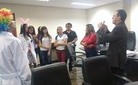 Gestor recebeu estudantes em seu gabinete no primeiro circuito de visitas