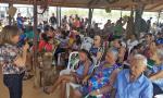 160 moradores participaram das palestras que envolviam temas como direitos da mulher rural e da pessoa idosa