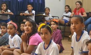 Evento ocorreu na extensão da Creche Municipal Cantinho da Alegria no setor Santa Bárbara, em Palmas