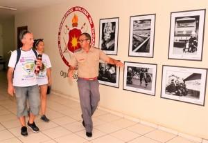 O tenente-coronel Filho e os uruguaios Victor e Maria Pechi
