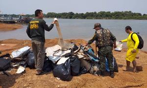 Operação Praia Limpa retira quase 12 toneladas de lixo