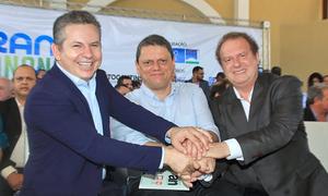 Ogovernador do Estado do Tocantins, Mauro Carlesse, agradeceu ao ministro Tarcísio Freitas, pelo apoio do Governo Federal para a obra da Rodovia Transbananal
