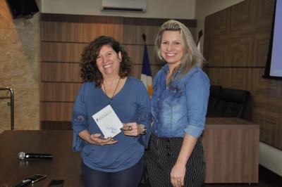 A ATR recebeu a advogada, especialista em Saúde Pública, Processo e Direito do trabalho, Leda Portelo como palestrante do terceiro encontro