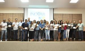 Servidores técnicos e administrativos da Agência receberam certificado de participação