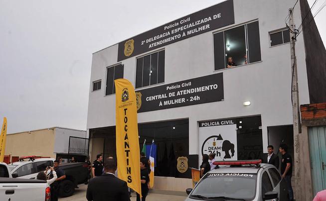 Unidade foi implantada na região sul de Palmas e faz parte do Plano Estadual de Segurança Pública e Defesa Social