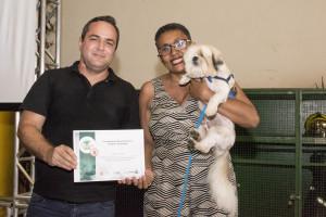 Páscua Souza, curada com apoio dos cães do Projeto Cinoterapia