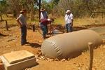 Instalação de biodigestor em propriedade rural