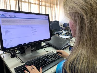 É necessário ser realizada a reinserção dos arquivos digitais no SGD