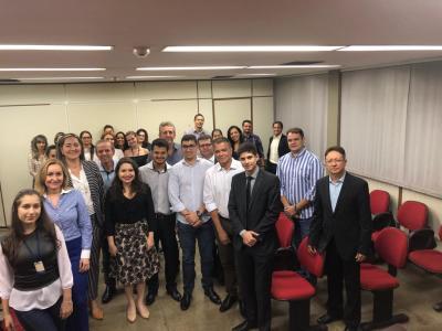 Com a equipe da Subprocuradoria Fiscal e Tributária