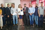 PGE foi representada pela subprocuradora do Patrimônio Imobiliário, Ana Flávia Ferreira Cavalcante (ao centro)