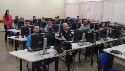 Aula prática sobre SGD na escola fazendária do Governo Estadual