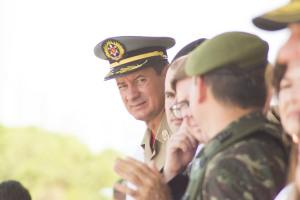 Coronel Reginaldo Leandro destacou a importância da parceria com o 22º BI
