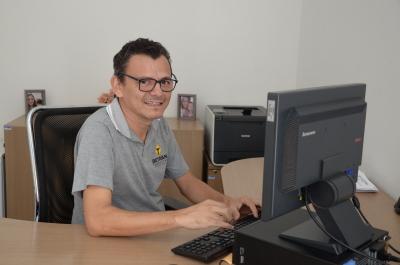 Coordenador da área de Manutenção, Jeovani de Oliveira