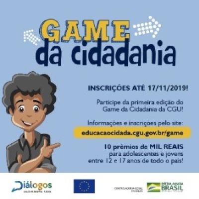 Concurso Game da Cidadania