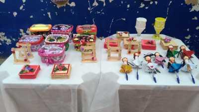 Reeducandas apresentaram objetos produzidos pelo Projeto Primavera