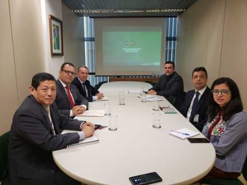 reunião foi realizada pela Secretaria-Geral da Presidência, em Brasilia, nesta segunda-feira