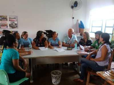 Servidores da Semarh repassam informações sobre a eleição do Comitê de Bacia dos Rios Lontra e Corda