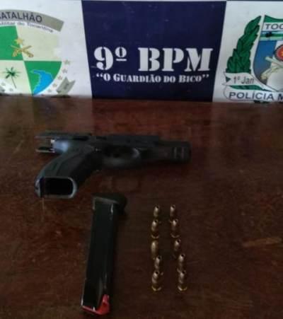 Arma apreendida pela PM em poder do autor_400.jpg