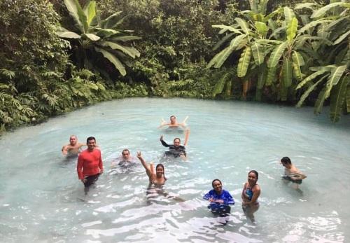 Visitantes aprovaram os atrativos do Jalapão, entre eles os fervedouros